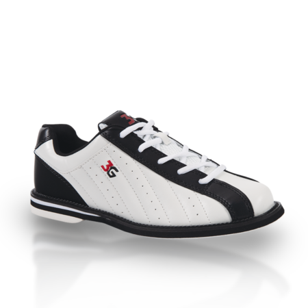 3G Kicks Unisex Bowling Shoes White/Black