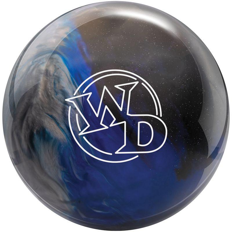 columbia 300 white dot bowling ball blue black silver