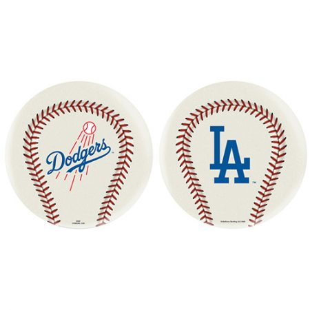 los angeles dodgers baseball logo bowling ball