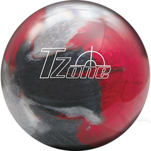 14lb Brunswick Tzone Indigo Swirl Bowling Ball