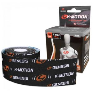 Genesis K-Motion Tape Uncut Roll - Black