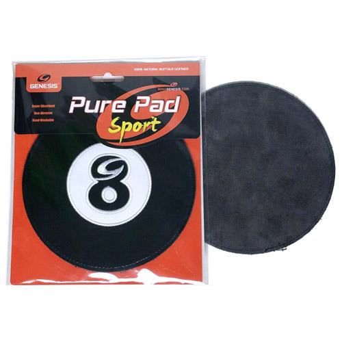 Genesis Pure Pad Sport Leather Ball Wipe 8-Ball Billiards