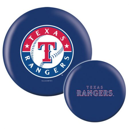 Texas Rangers MLB Bowling Ball