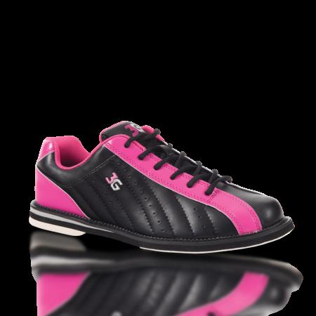 3G Kicks Women's Bowling Shoes Black/Pink