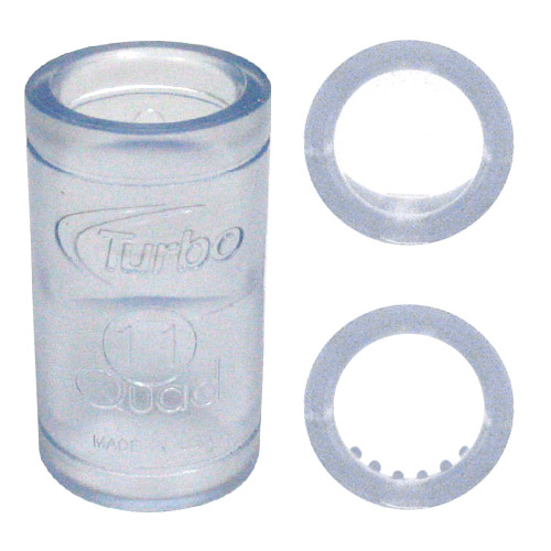 Turbo Quad2 (Nubs/Semi Bump) Finger Grips - Bag of 10