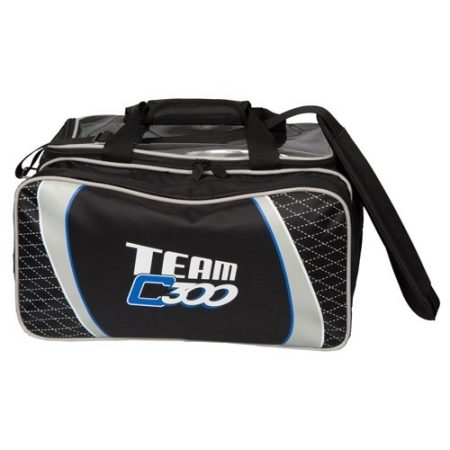 Team Columbia Double Tote Black/Silver