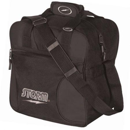 Storm 1-Ball Solo Single Tote Bowling Bag Black