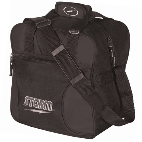 Storm 1-Ball Solo Single Tote Bowling Bag Black
