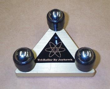 Jayhawk Tri Roller Bowling Ball Layout Tool