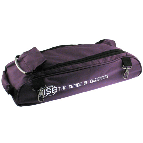 Vise Detachable Double Tote Bowling Shoe Bag Purple