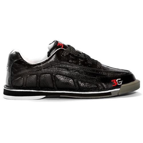 3G tour ultra black mens bowling shoes