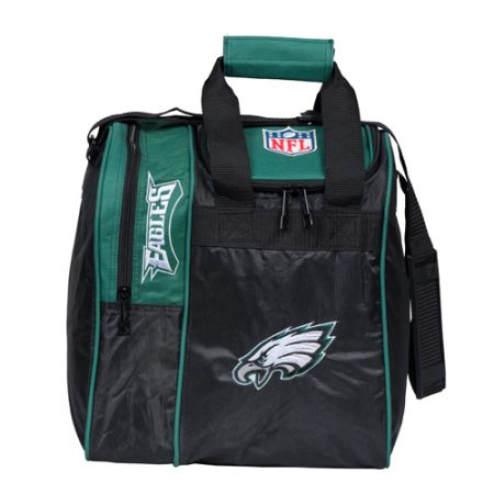 nfl eagles single bowling ball tote