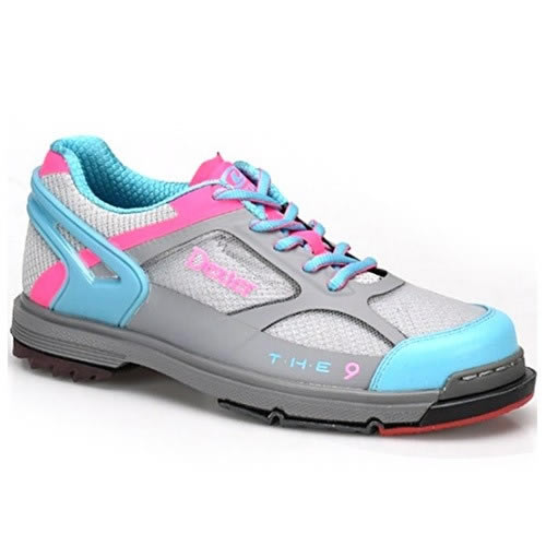 Dexter The 9 HT Grey/Blue/Pink Women's Bowling Shoes