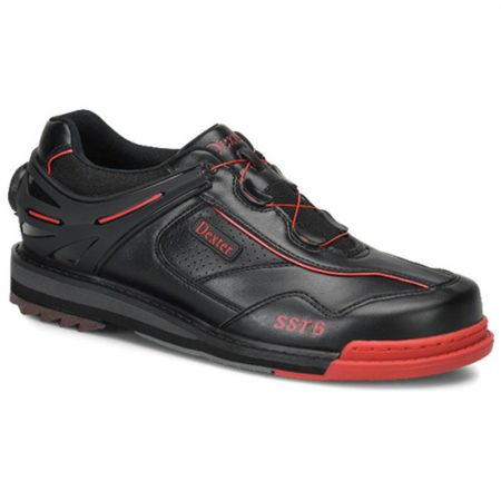dexter sst6 black red boa bowling shoe