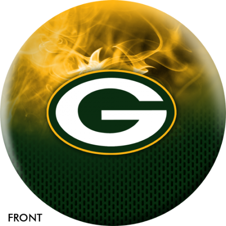 Green Bay Packers bowling ball