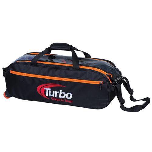 turbo pursuit orange triple tote