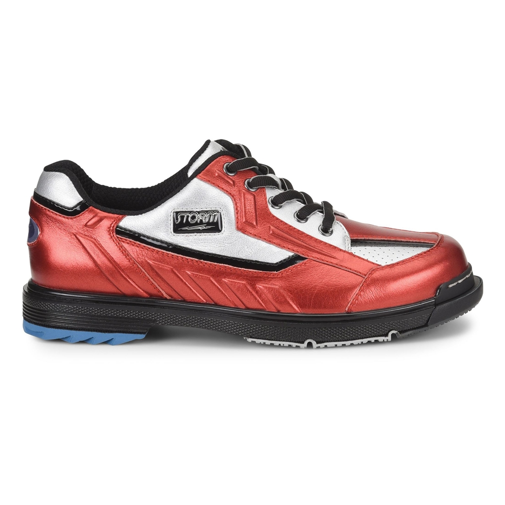 storm sp3 metallic red silver bowling shoes