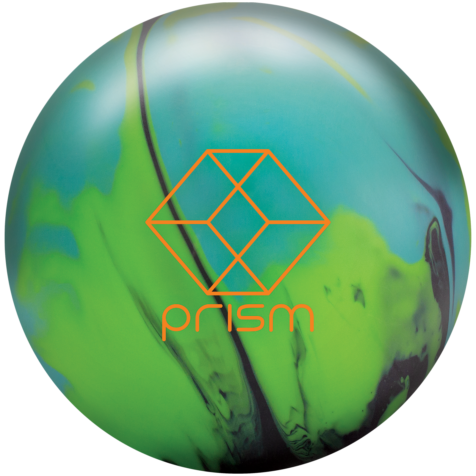 Prism solid bowling ball