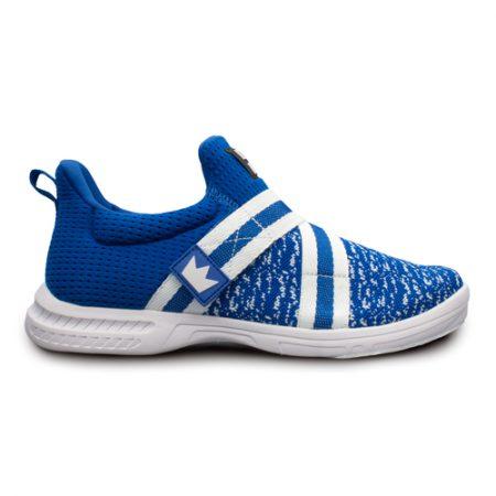 brunswick slingshot blue white mens bowling shoes