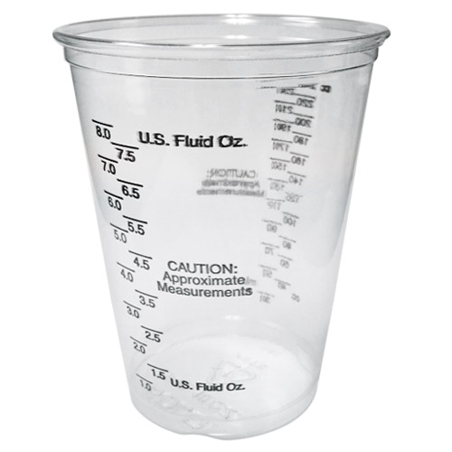 Bowling ball plug mixing cup, measureing cups, plastic mixing cups