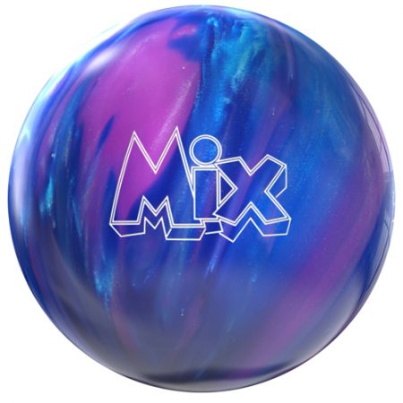 storm mix purple blue bowling ball