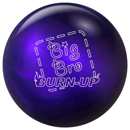 swag big bro burn up bowling ball