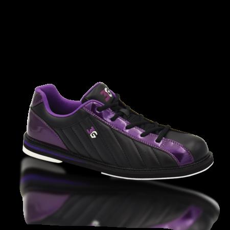 3G Kicks Unisex Bowling Shoes Black/Purple
