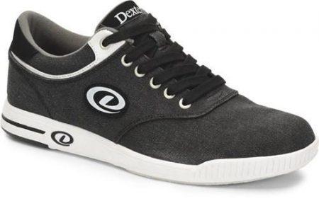 dexter kory III black white mens bowling shoe