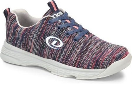 dexter abby pink blue multi womens bowling shoes