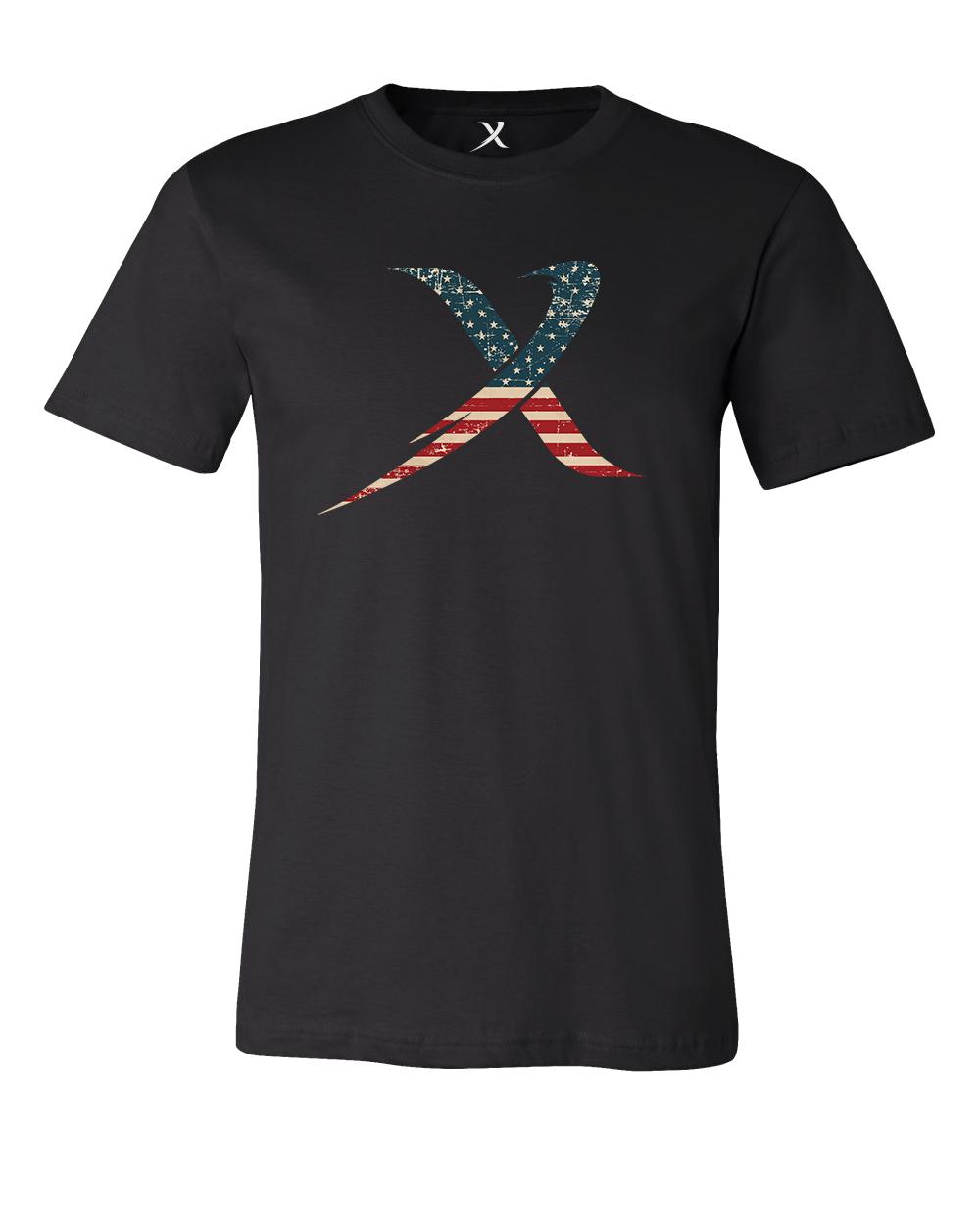 bowlerx america usa bowling shirt