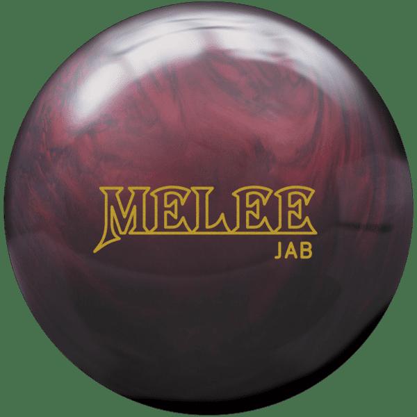 brunswick melee jab blood red bowling ball