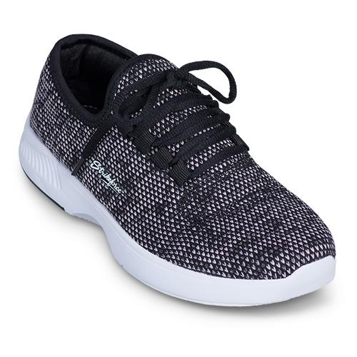 kr maui black plum knit womens bowling shoes