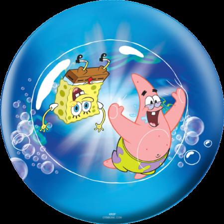 Sponge Bob Patrick Bubble bowling ball