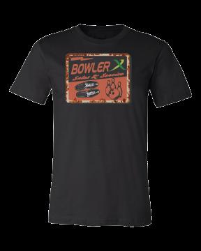bowler x retro old school style bowling shirt