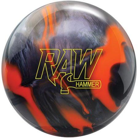 hammer raw hammer bowling ball black orange