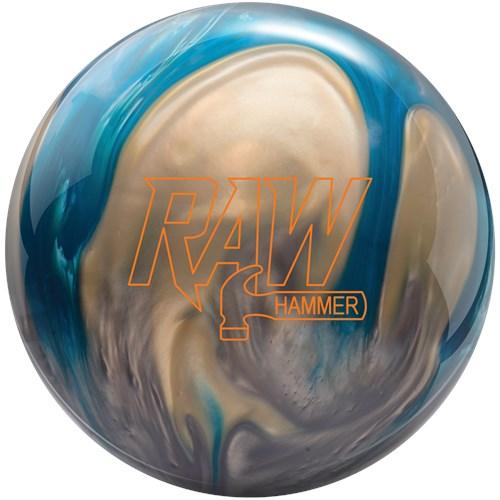hammer raw hammer bowling ball blue silver white