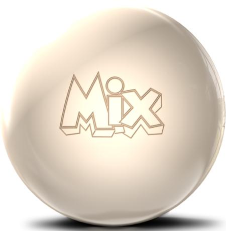 storm mix bowling ball off white