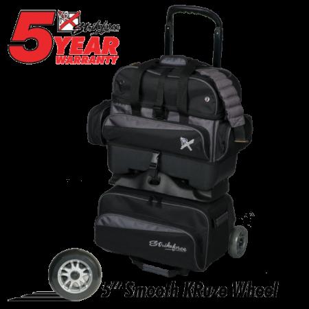 KR Konvoy 4-Ball Roller Black/Carbon