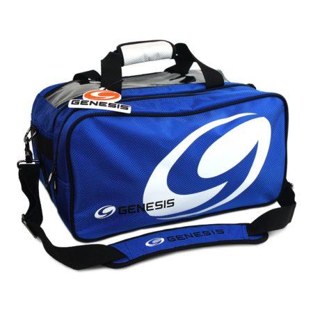 Genesis Sport 2-Ball Tote +Plus Blue