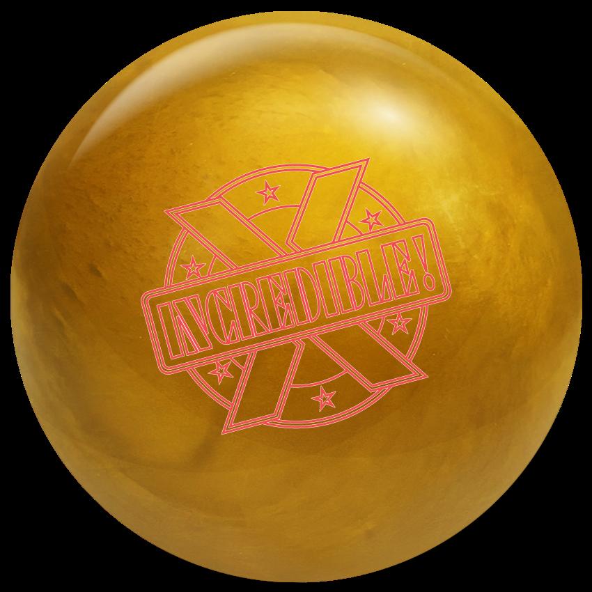 swag incredible x gold bowling ball