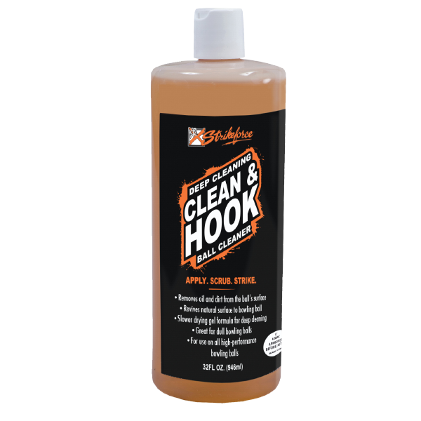 KR Clean & Hook Ball Cleaner - 32oz.
